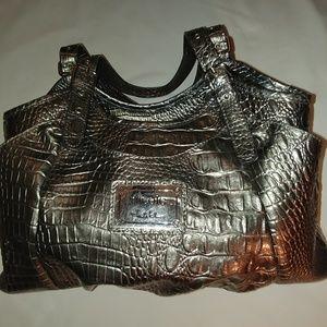 Nicole Handbag - Silver